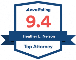 AVVO 2021 Top Rated Attorney Heather L Nelson Award